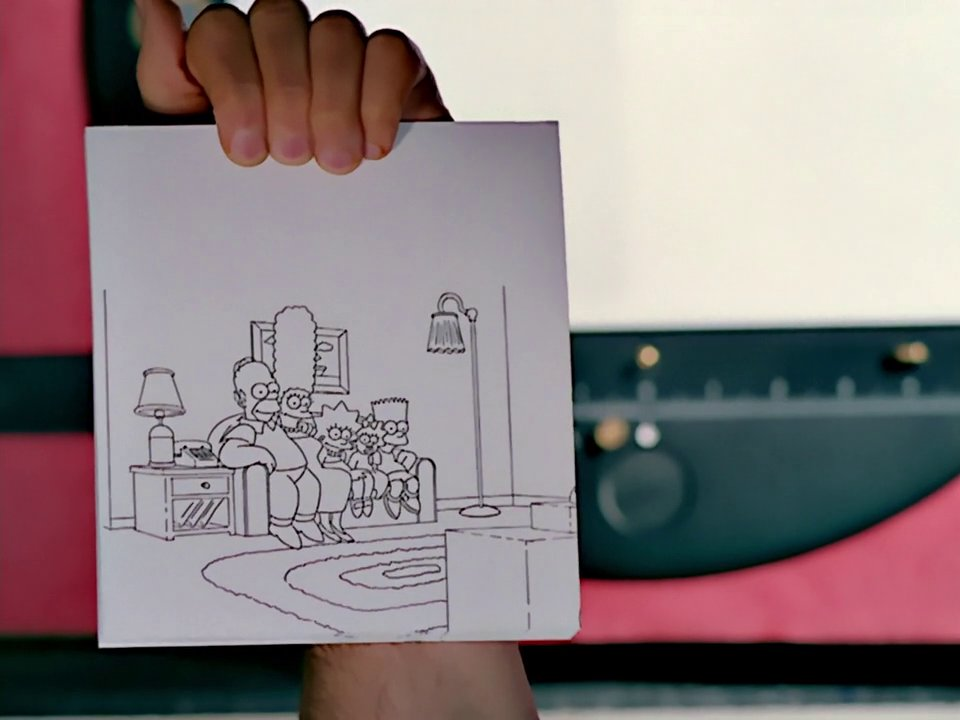Flip Book couch gag