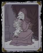 Daphne z małym Burnsem