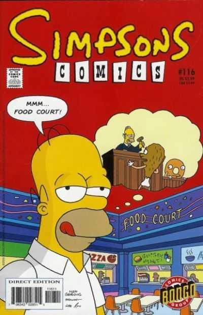 Simpsons Comics 116