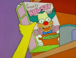 Frosted Krusty Flakes
