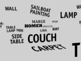Words couch gag