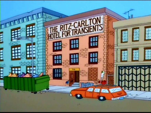 The Ritz-Carlton Hotel for Transients