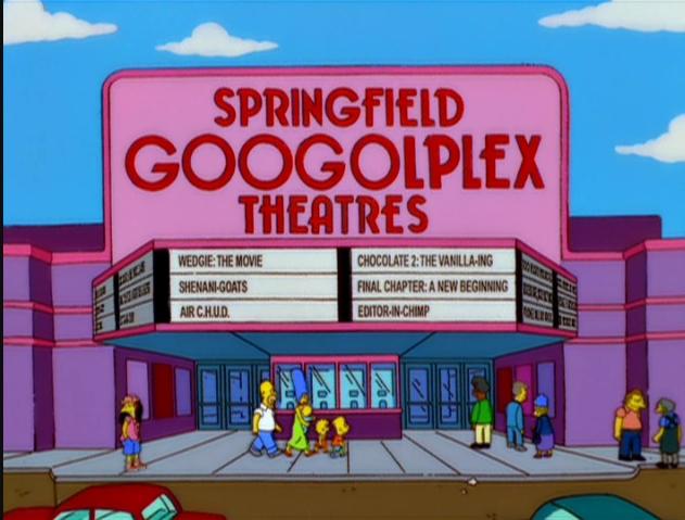 Teatro Springfield Googolplex