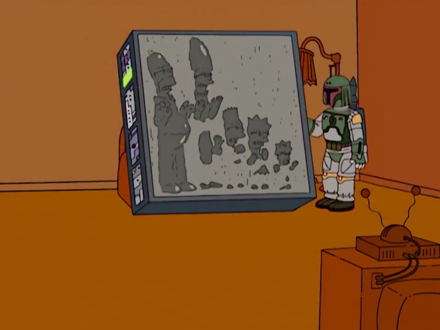 Carbonite Family couch gag