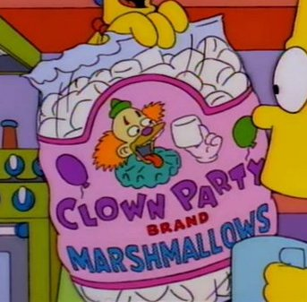 Clown Party Brand Marshmallows