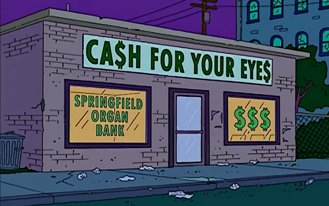 CA$H FOR YOUR EYE$