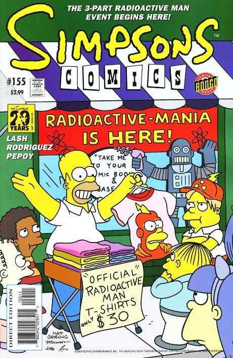 Simpsons Comics 155