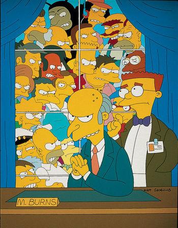 Qui a tiré sur M. Burns ?