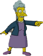 Agnes Skinner in The Simpsons Movie