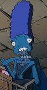 Marge as Judas Breed