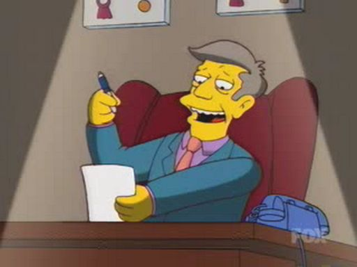 Skinner's Evil Plan
