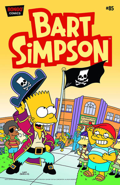 Bart Simpson Comics 85