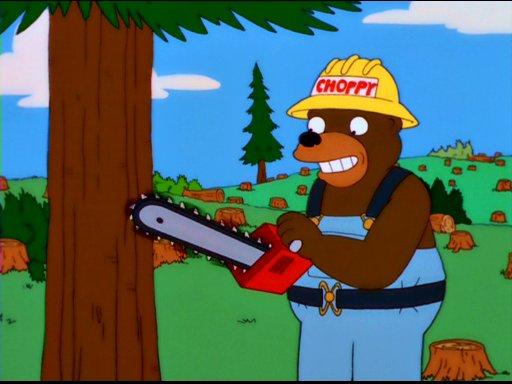 Choppy the Lumberjack