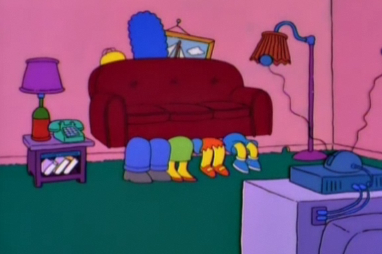 Family Couch couch gag