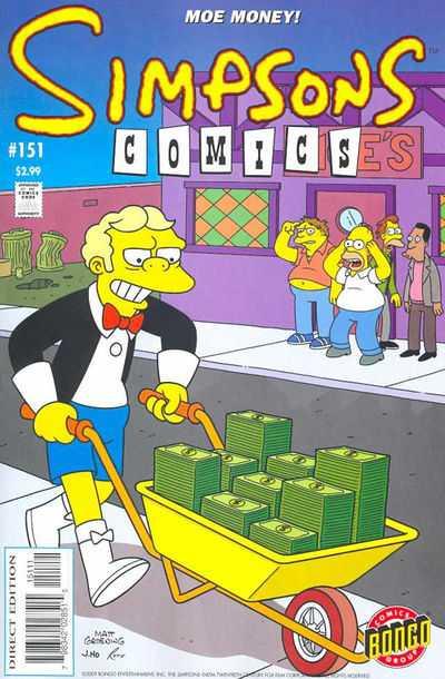 Simpsons Comics 151