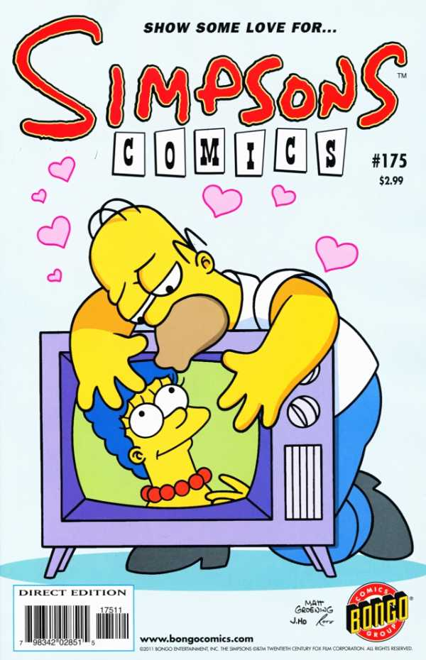Simpsons Comics 175