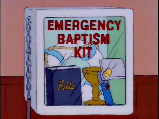 Emergency Baptism Kit