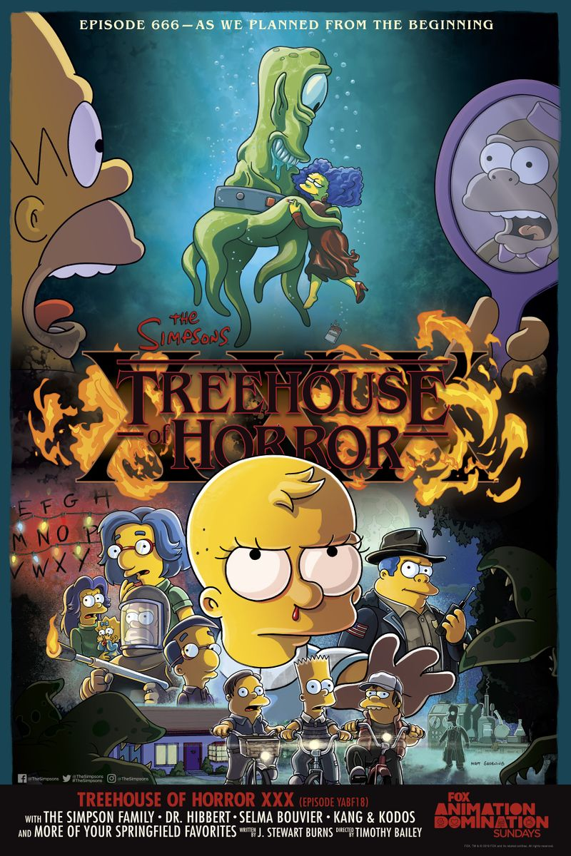 Treehouse of Horror XXX