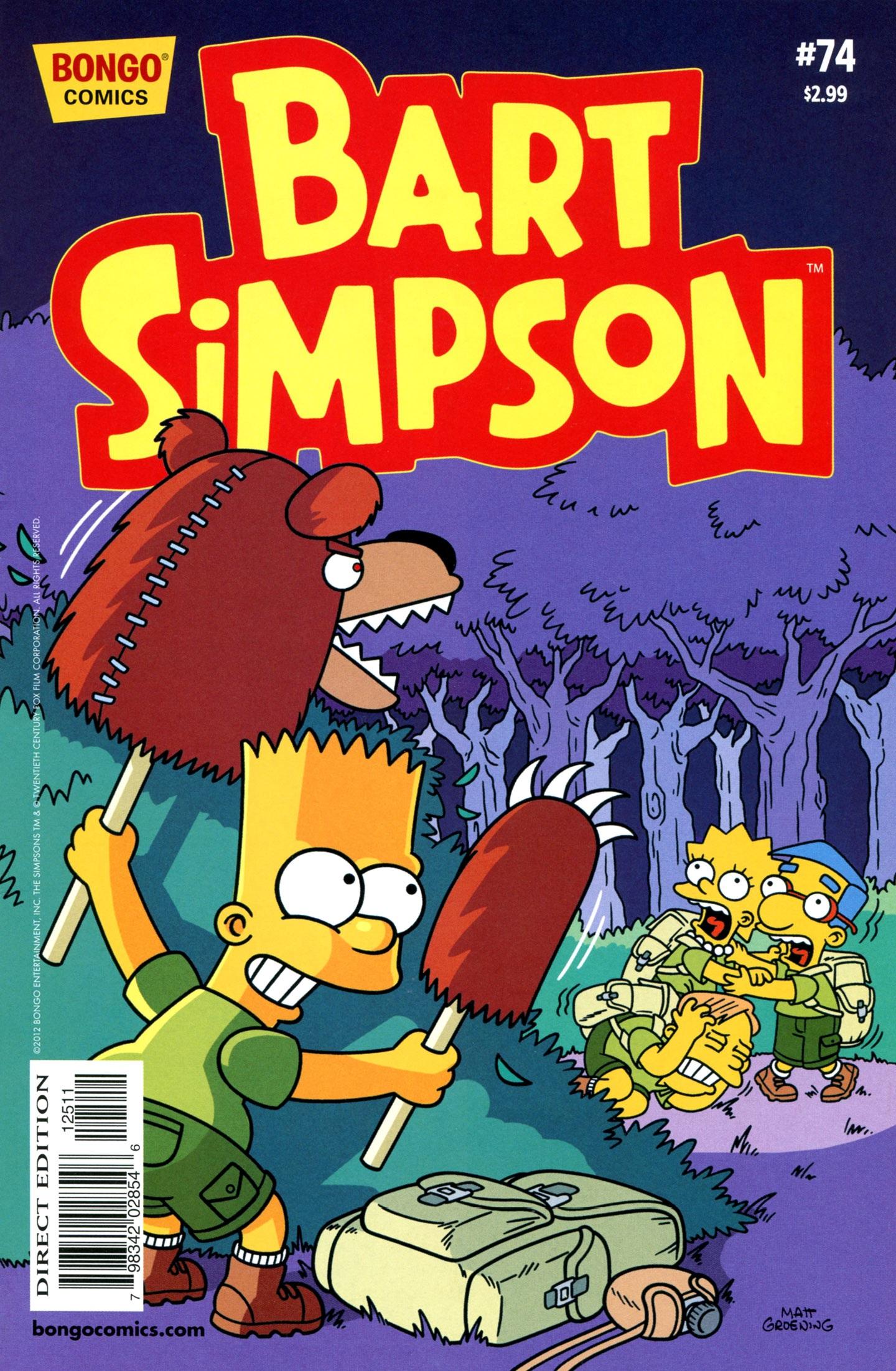 Bart Simpson Comics 74