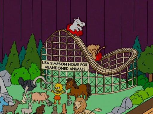 Lar Lisa Simpson para animais abandonados