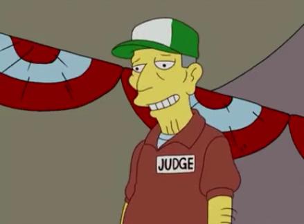 County fair judge