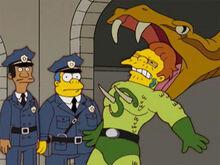 Serpente morte policiais