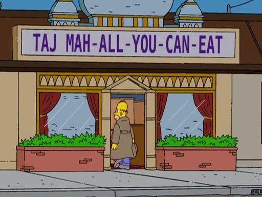 Taj Mah-All-You-Can-Eat