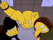 Bullies beating up Bart