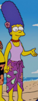 Marge swimsuit and sarong