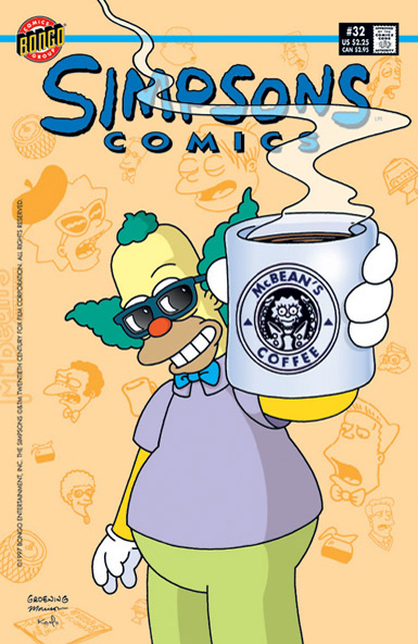 Simpsons Comics 32