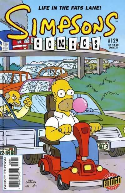 Simpsons Comics 129