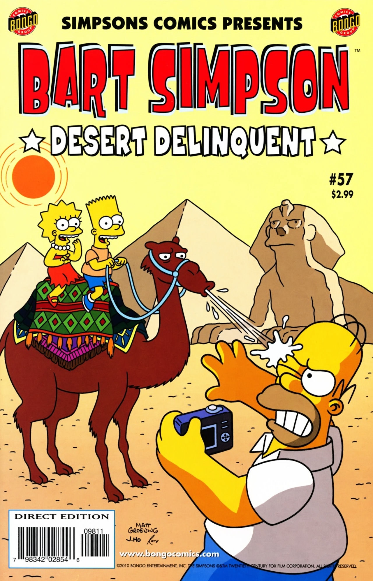 Bart Simpson Comics 57