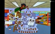 Destroying jars of acid