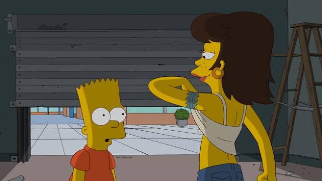 Beware My Cheating Bart