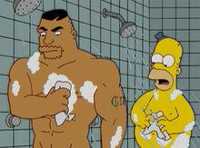 Drederick tatum Homer chuveiros