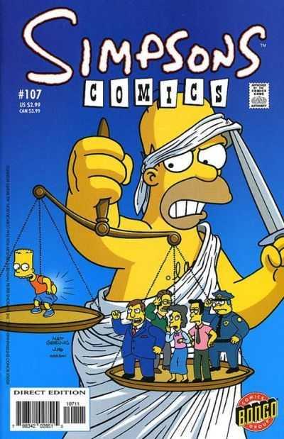 Simpsons Comics 107