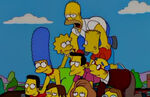 The Simpsons Sweets and Sour Marge human piramid