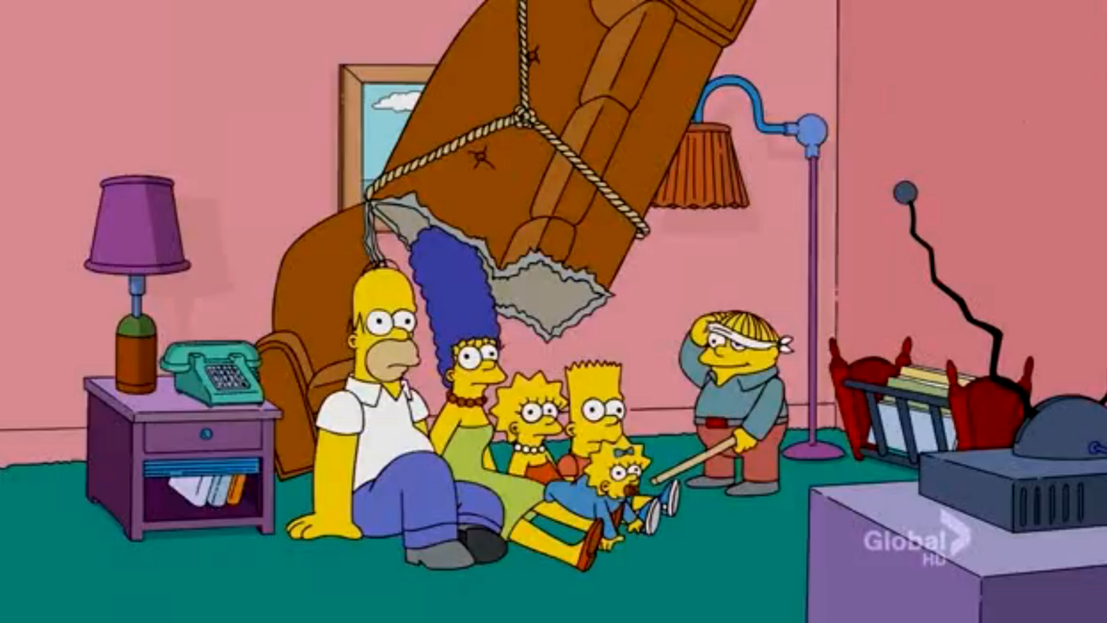 Piñata Couch couch gag