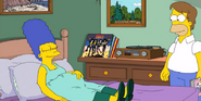 Marge Simpson young in Four Regrettings and a Funeral