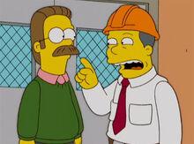 Flanders gerente fabrica bigode