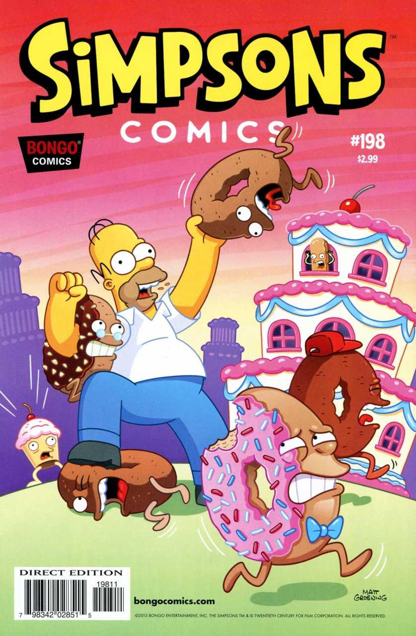 Simpsons Comics 198
