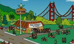 Krusty Burger San Francisco