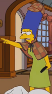 Marge detective outfit