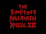 The Simpsons Halloween Special XII - Title Card