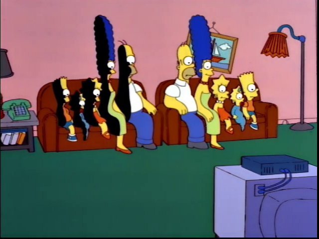 Sliced Family couch gag