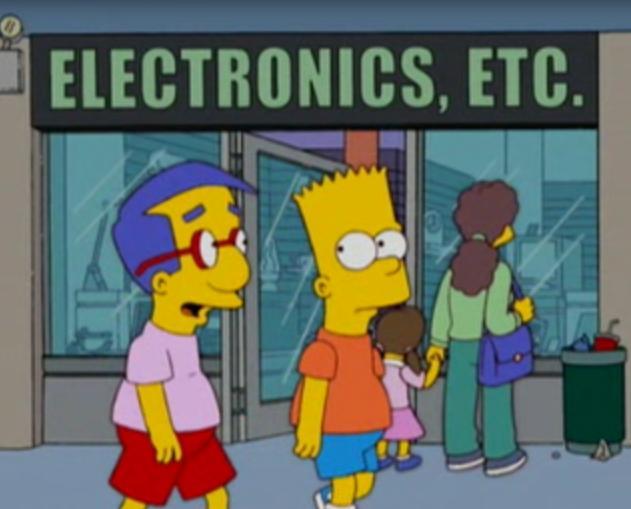 Electronics, Etc.