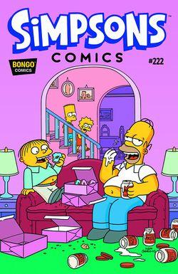 Simpsons Comics 222