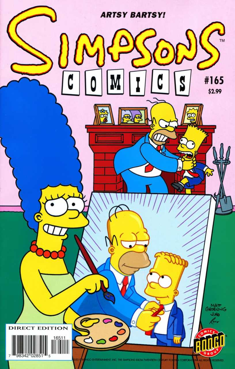 Simpsons Comics 165