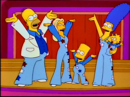 The Simpsons Family Smile-Time Variety Hour