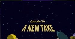 Cosmic Wars Episode VII: A New Take